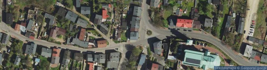 Zdjęcie satelitarne Wojska Polskiego 1