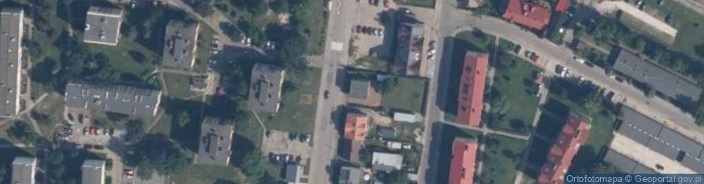 Zdjęcie satelitarne Wojska Polskiego 43