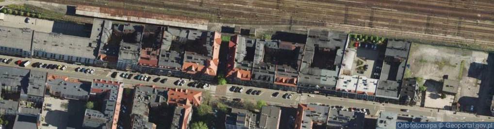 Zdjęcie satelitarne Wojewódzka 26