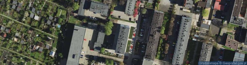Zdjęcie satelitarne Wolnego Józefa ul.