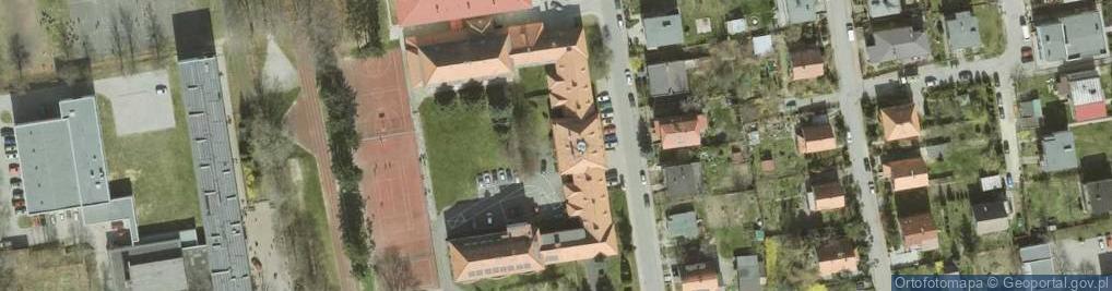 Zdjęcie satelitarne Wojska Polskiego 17