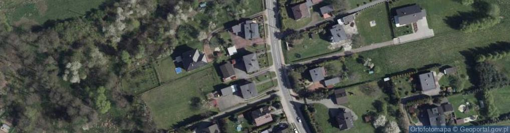 Zdjęcie satelitarne Wolności 75b