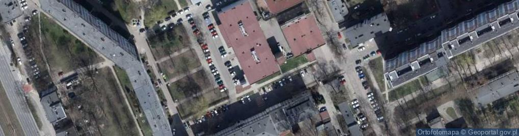 Zdjęcie satelitarne Wspólna ul.