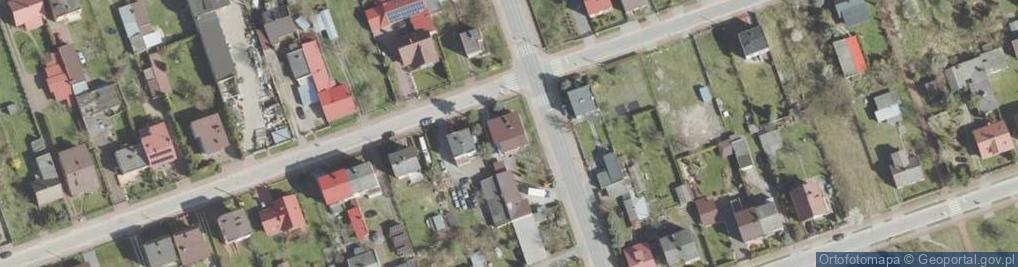 Zdjęcie satelitarne Wschodnia ul.