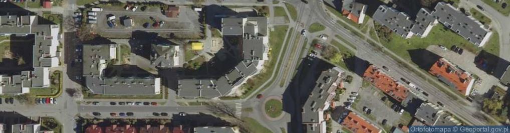 Zdjęcie satelitarne Wyszyńskiego Stefana, ks. Prymasa kard. ul.