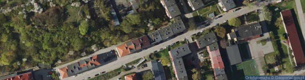 Zdjęcie satelitarne Zakopiańska 32b
