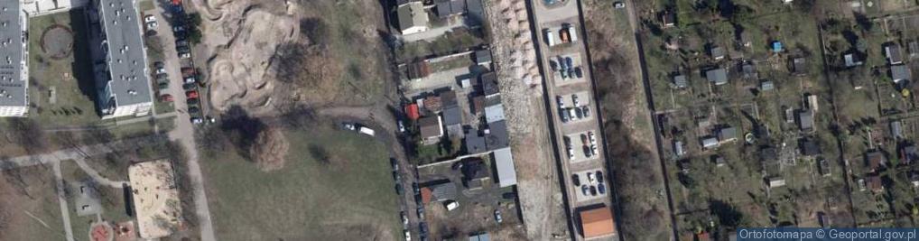 Zdjęcie satelitarne Zapadła 56