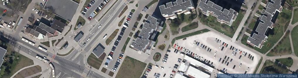 Zdjęcie satelitarne Zamiejska 17