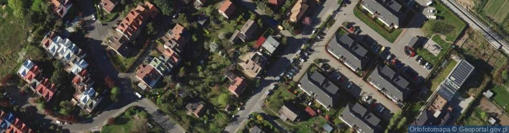 Zdjęcie satelitarne Zagrodnicza ul.