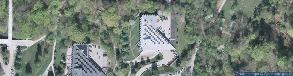 Zdjęcie satelitarne Zdrojowa 9