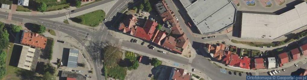 Zdjęcie satelitarne Zgorzelecka ul.