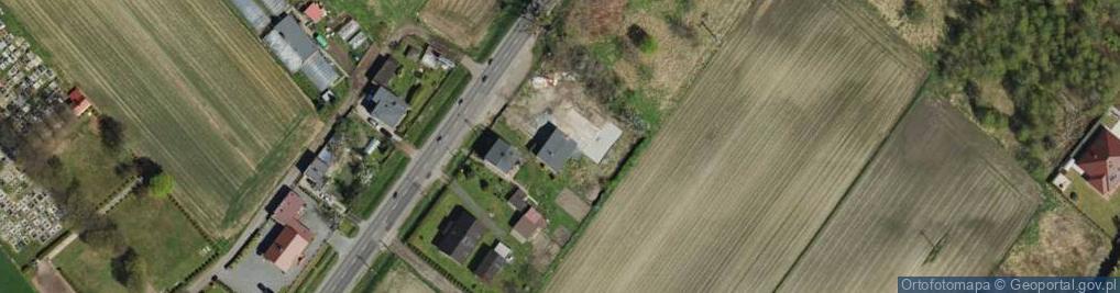 Zdjęcie satelitarne Żołnierska 114