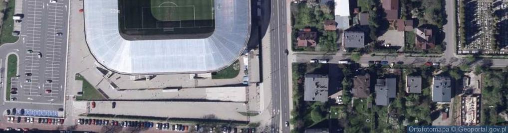 Zdjęcie satelitarne Żywiecka 36