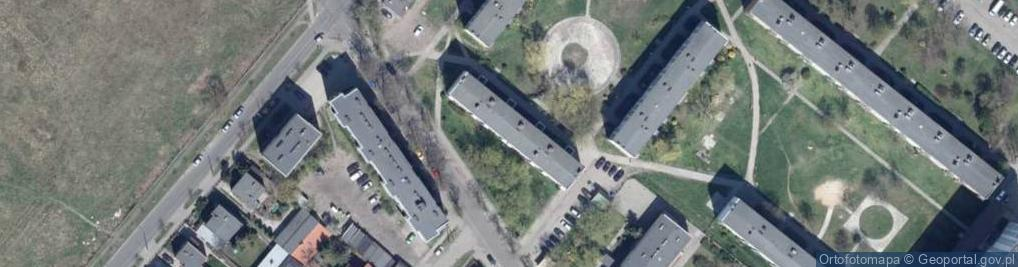 Zdjęcie satelitarne Żytnia 84