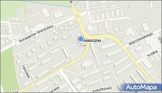 GBS Choszczno, Choszczno, Rynek 6  - Bank Spółdzielczy - Oddział