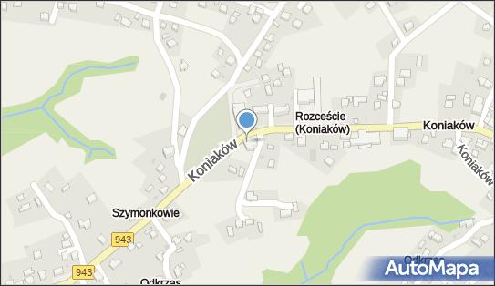 Dom rekolekcyjny EMAUS, Koniaków, Koniaków 290