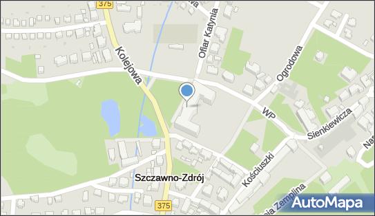 Sanatorium Dom Zdrojowy, Szczawno-Zdrój, ul. Kolejowa  14 - Hotel