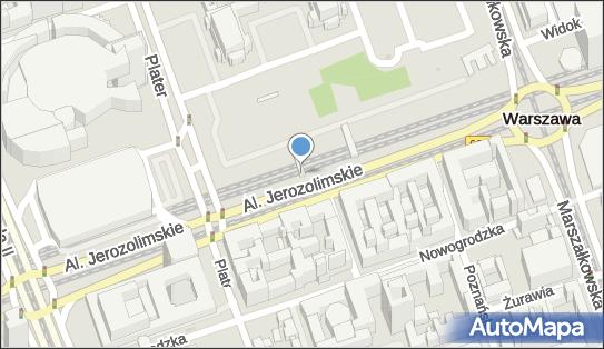 Kiosk, Warszawa, al. Jerozolimskie