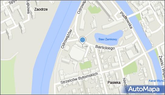 Lodowisko Toropol, Opole, ul. Barlickiego 13 - Lodowisko