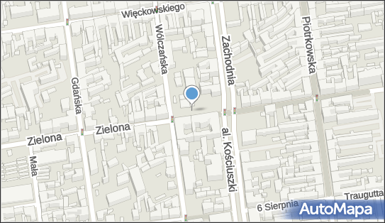 nr 53,  Łódź, Zielona 13  - Parkomat