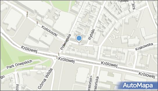 Parking Płatny-strzeżony, 61-889, 61-893 Poznań, Krakowska  - Płatny-strzeżony - Parking