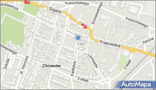 FUP Chrzanów, 32-500 Chrzanów, ul. Rynek 10  - Poczta Polska - Poczta