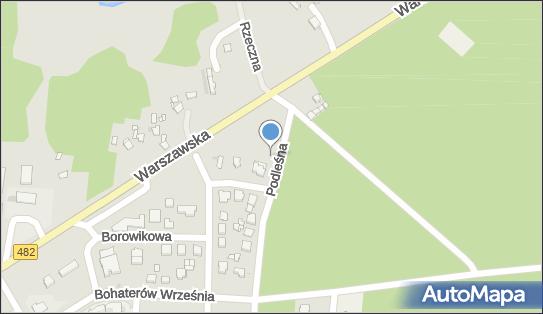 Kameralna, Łask, Podleśna 1  - Restauracja
