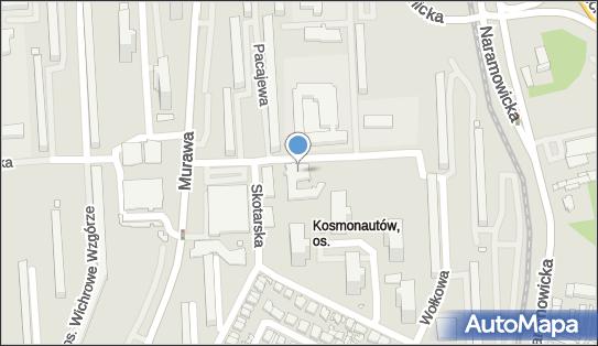 p.w. Św. Aniołów Stróżów, Poznań, os. Kosmonautów 120  - Rzymskokatolicki - Kościół