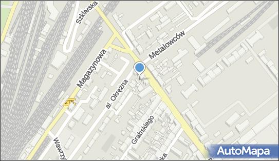 Sklep nocny 24h, Inowrocław, ul. Dworcowa x Okrężna.