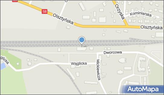 Stacja, Dworzec kolejowy, Pisz - Stacja, Dworzec kolejowy
