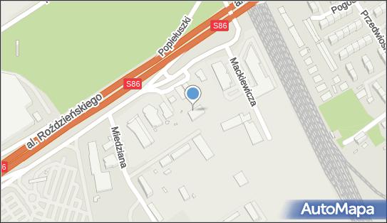 Lambda, Katowice, al. Walentego Roździeńskiego 210  - Stacja Kontroli Pojazdów