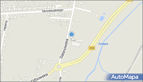 Wafelek, Częstochowa, Sabinowska 211