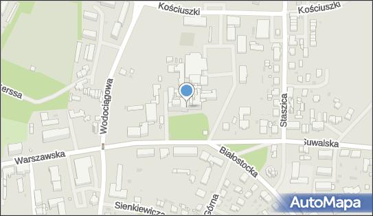 Szpital SP ZOZ, Giżycko, Warszawska 41  - Szpital