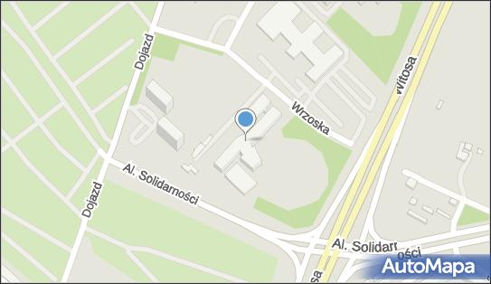 Szpital ZOZ MSWiA  im. L. Bierkowskiego, Poznań, Dojazd 34
