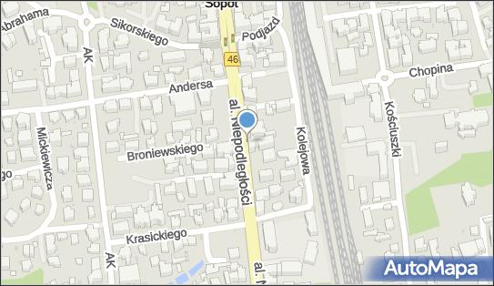 Postój Taxi, Sopot