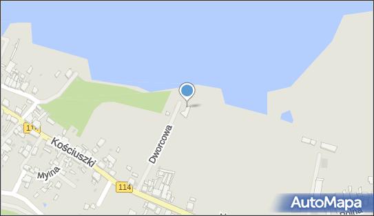 Bosmanat Portu, Nowe Warpno, Dworcowa 7  - Urząd lokalny, gminny
