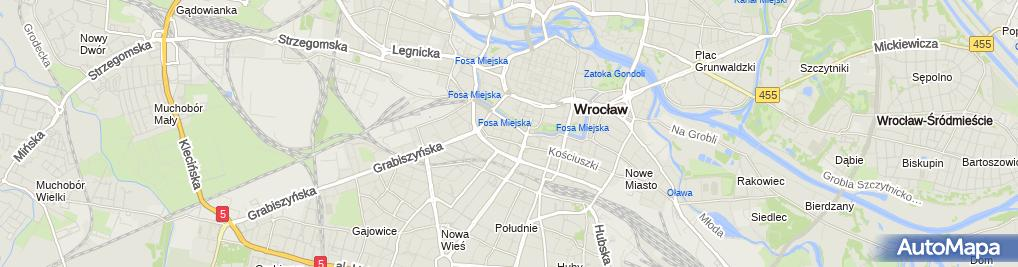 Zdjęcie satelitarne ABW Delegatura