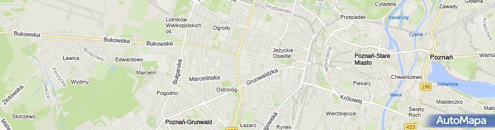 Zdjęcie satelitarne Dom Studencki ASPIRYNKA