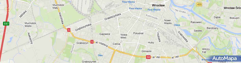 Zdjęcie satelitarne Apteka Przy Pl. Hirszfelda