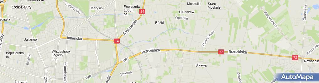 Zdjęcie satelitarne ZK Nr 1