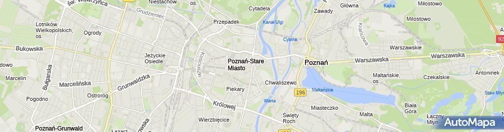Zdjęcie satelitarne Przepompownia ścieków
