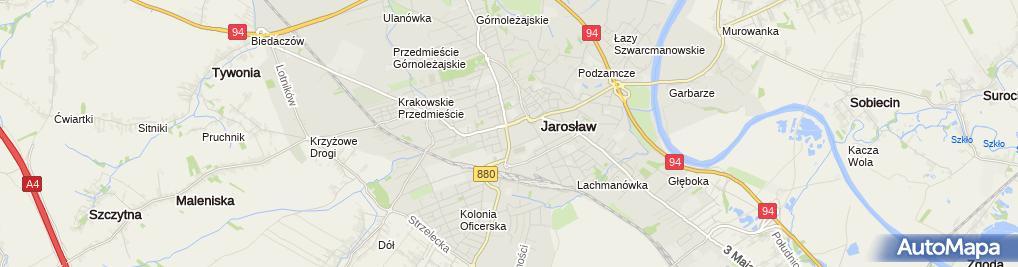 Zdjęcie satelitarne BS Jarosław