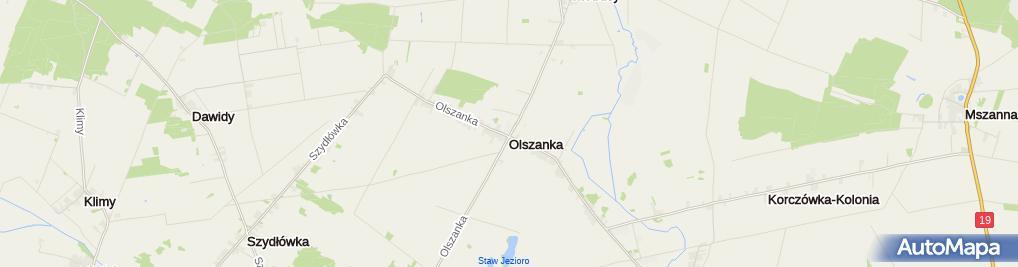 Zdjęcie satelitarne BS Łosice