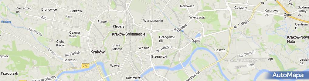 Zdjęcie satelitarne Wydział Spraw Obywatelskich i Cudzoziemców