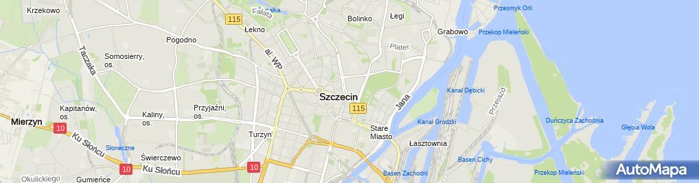 Zdjęcie satelitarne PAZIM