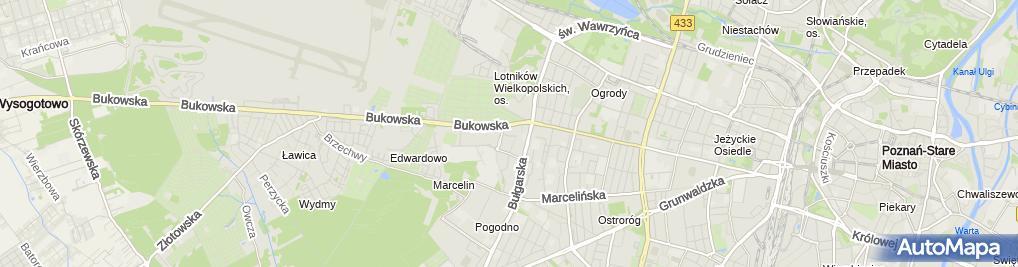 Zdjęcie satelitarne Fabryka Mebli BODZIO