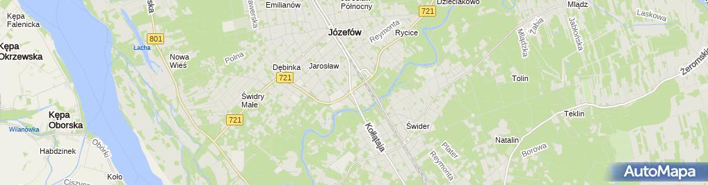 Zdjęcie satelitarne ABUD Market Budowlany
