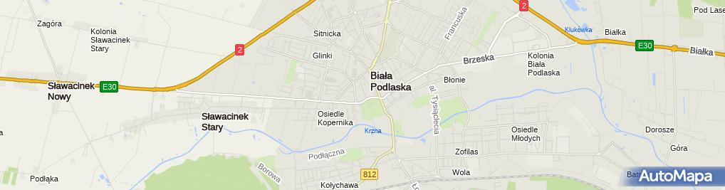 Zdjęcie satelitarne Misericordia