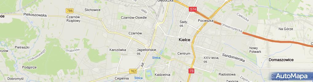 Zdjęcie satelitarne Cukiernia Dorotka