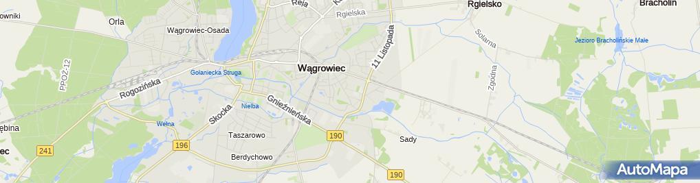 Zdjęcie satelitarne Wielkopolska